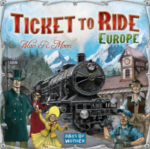 Buy Ticket To Ride: Europe the board game online in NZ
