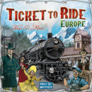 Buy Ticket To Ride Europe NZ