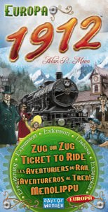 Buy Ticket To Ride: Europa 1912 the game expansion online in NZ