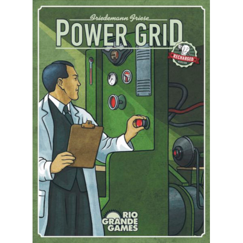 Buy Power Grid (Recharged Edition) the board game online in NZ