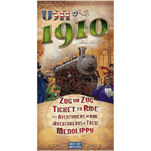 Buy Ticket To Ride: USA 1910 (Expansion) the game expansion online in NZ