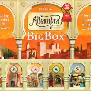 Buy Alhambra: Big Box the board game online in NZ