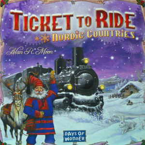Buy Ticket To Ride: Nordic Countries the board game online in NZ