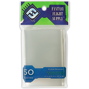 Buy Card Sleeves: Standard American Clear (FFS03) the game accessory online in NZ