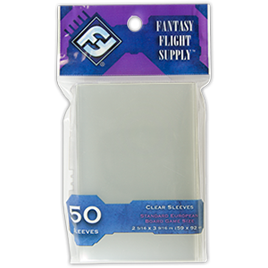 Buy Card Sleeves: Standard European Clear (FFS04) the game accessory online in NZ
