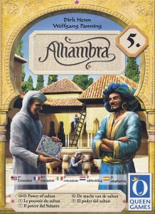 Buy Alhambra: Power Of The Sultan the game expansion online in NZ