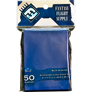 Buy Card Sleeves: Standard Blue (FFS28) the game accessory online in NZ