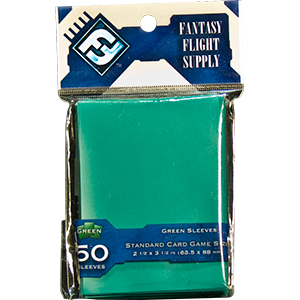 Buy Card Sleeves: Standard Green (FFS29) the game accessory online in NZ