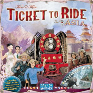 Buy Ticket to Ride Map Collection: Volume 1 - Team Asia And Legendary Asia the game expansion online in NZ