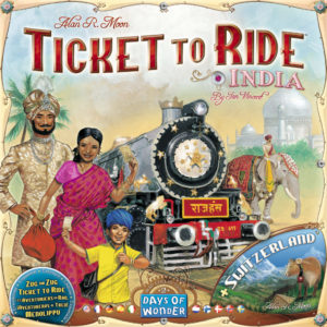 Buy Ticket to Ride Map Collection: Volume 2 - India And Switzerland the game expansion online in NZ