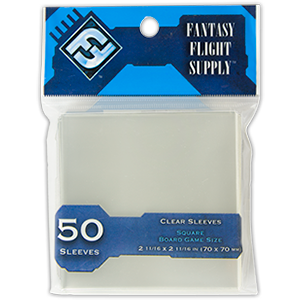 Buy Card Sleeves: Square Clear (FFS65) the game accessory online in NZ