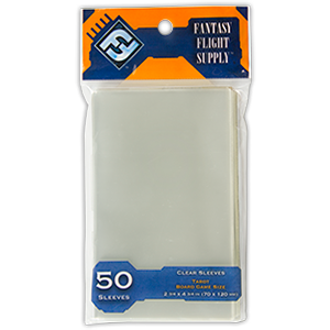 Buy Card Sleeves: Tarot Clear (FFS66) the game accessory online in NZ