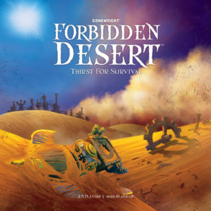 Buy Forbidden Desert the board game online in NZ