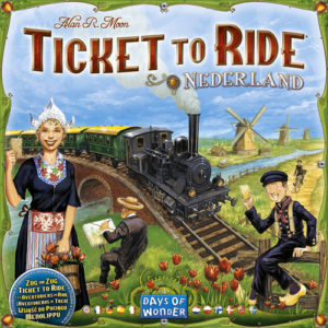 Buy Ticket To Ride Map Collection: Volume 4 – Nederland the game expansion online in NZ