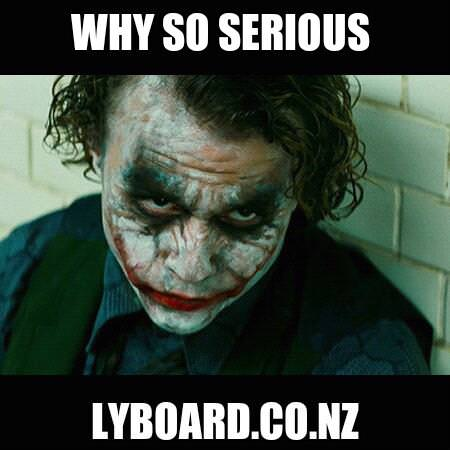 Why So SeriouslyBoard