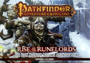 Buy Pathfinder Adventure Card Game Rise Of The Runelords The Hook Mountain Massacre Adventure Deck NZ