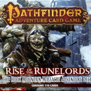 Buy Pathfinder Adventure Card Game: Rise Of The Runelords – The Hook Mountain Massacre Adventure Deck the game expansion online in NZ