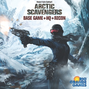 Buy Arctic Scavengers: Base Game+HQ+Recon the card game online in NZ