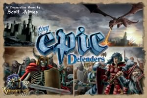 Buy Tiny Epic Defenders Deluxe the board game online in NZ