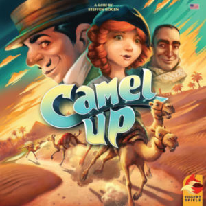 Buy Camel Up (Second Edition) the board game online in NZ