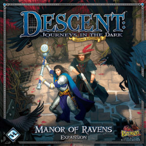 Buy Descent: Journeys in the Dark (Second Edition) - Manor of Ravens the game expansion online in NZ
