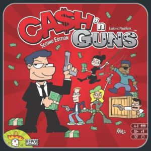 Buy Ca$h 'n Guns (Second Edition) the game online in NZ