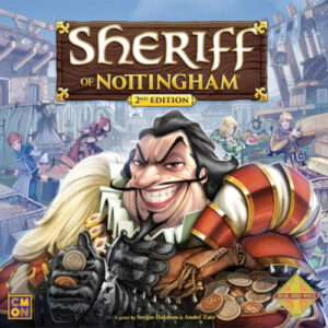 Buy Sheriff of Nottingham (2nd Edition) the game online in NZ