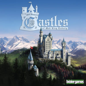 Buy Castles of Mad King Ludwig the board game online in NZ