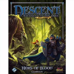Buy Descent: Journeys in the Dark (Second Edition) - Heirs of Blood the game expansion online in NZ
