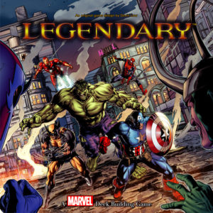 Buy Legendary: A Marvel Deck Building Game the card game online in NZ