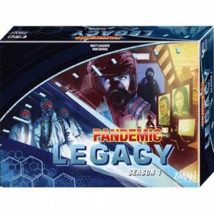 Buy Pandemic Legacy - Season 1 (Blue Box) the board game online in NZ
