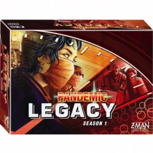 Buy Pandemic Legacy - Season 1 (Red Box) the board game online in NZ