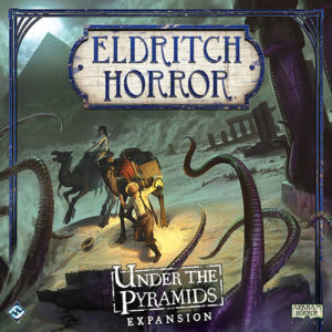 Buy Eldritch Horror: Under the Pyramids the game expansion online in NZ