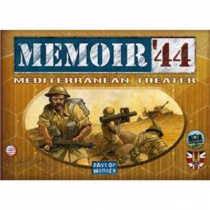 Buy Memoir '44: Mediterranean Theater the game expansion online in NZ