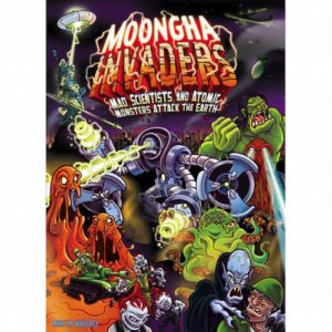Buy Moongha Invaders: Mad Scientists and Atomic Monsters Attack the Earth! the board game online in NZ