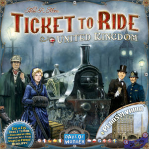 Buy Ticket to Ride Map Collection: Volume 5 – United Kingdom & Pennsylvania the game expansion online in NZ