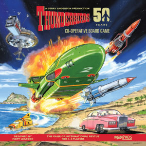 Buy Thunderbirds the board game online in NZ