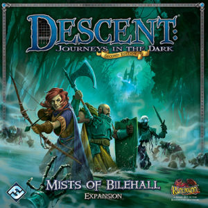 Buy Descent: Journeys in the Dark (Second Edition) – Mists of Bilehall the game expansion online in NZ
