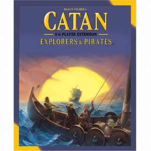 Buy Catan: Explorers and Pirates - 5-6 Player Extension the game expansion online in NZ