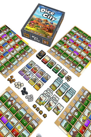 Buy Dice City the game online in NZ