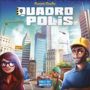 Buy Quadropolis the board game online in NZ
