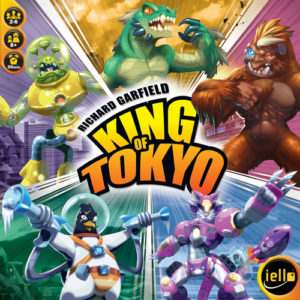 Buy King of Tokyo 2nd Edition the game online in NZ