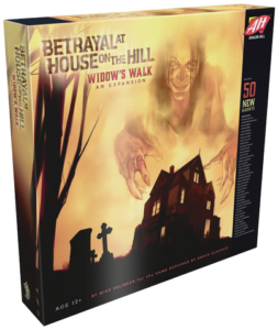 Buy Betrayal At House On The Hill: Widow's Walk the game expansion online in NZ