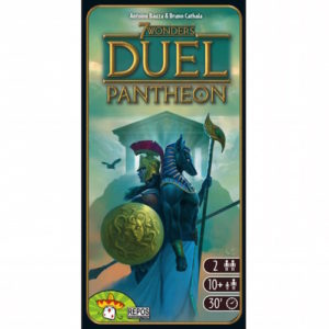 Buy 7 Wonders Duel: Pantheon (Expansion) the game expansion online in NZ