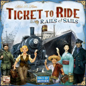 Buy Ticket to Ride: Rails and Sails the board game online in NZ
