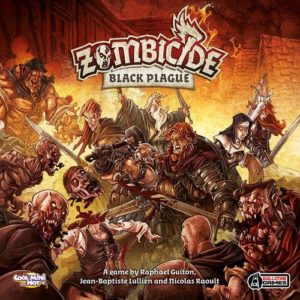 Buy Zombicide: Black Plague the board game online in NZ