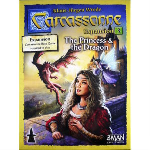 Buy Carcassonne: The Princess and the Dragon (Expansion) the game expansion online in NZ