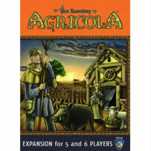 Buy Agricola: Expansion for 5 and 6 Players the game expansion online in NZ