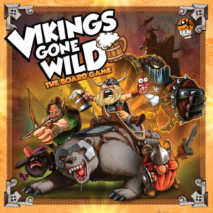 Buy Vikings Gone Wild the board game online in NZ