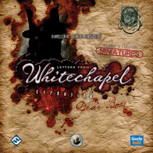 Buy Letters from Whitechapel: Dear Boss (Expansion) the game expansion online in NZ